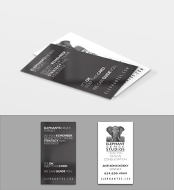 Elephant Sense Studios Business Card
